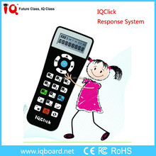 IQClick interactive teaching & learning student remote voting system