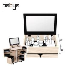 Wholesale Convertible furniture hardware Price Makeup Table Set With Mirror For Sale