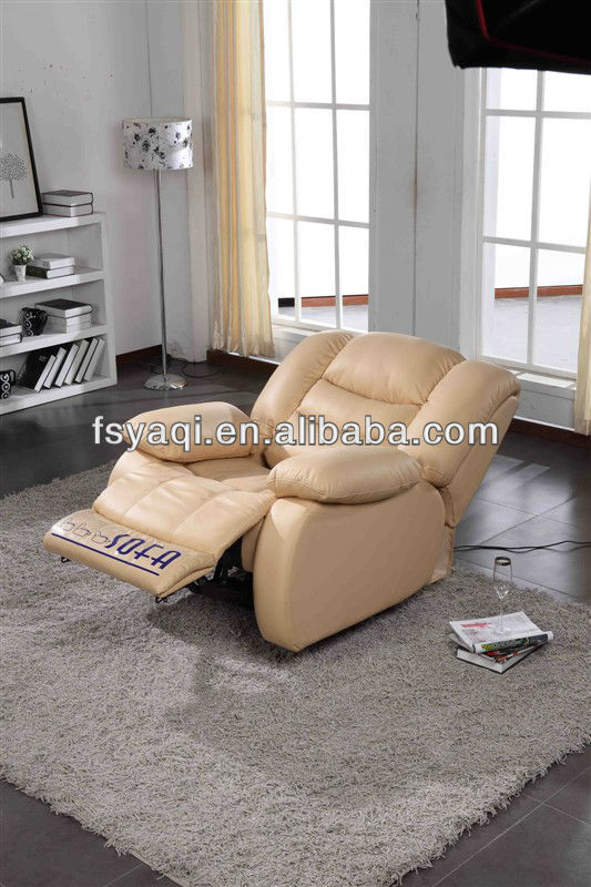 Modern design home theater leather reclining sofa sets 627-1