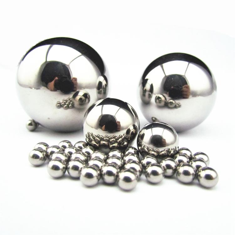 6mm diámetro grado 10 endurecido 52100 rodamientos de bolas de acero cromado
