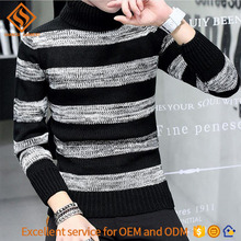 2017 Autumn latest sweater designs for men , man's skin tight long sleeve pullover sweater shirt