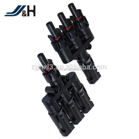 UL TUV Approved Male and Female MC4 T Branch Connector Solar Panel Connector Solar PV Connector