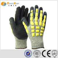 sunnyhope latex crinkle puncture resistant gloves