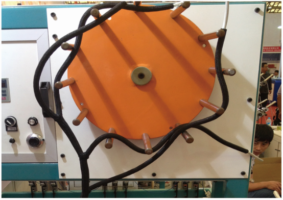 wire harness braiding machine
