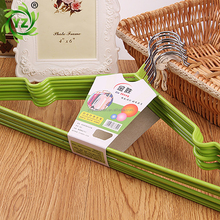 A236 laundry product anti slip pvc coated clothes hanger