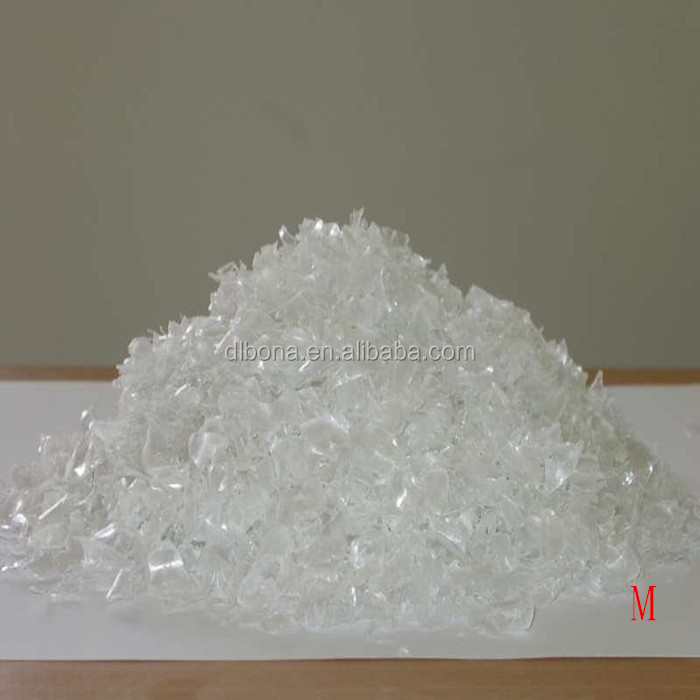hot washed PET bottle scrap / PET flakes /recycled PET Resin Factory price PET flake