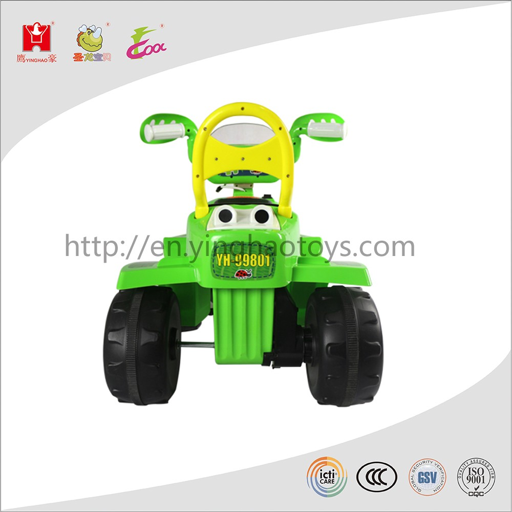 cheap price power wheel outdoor battery car ride on ATV for kids play