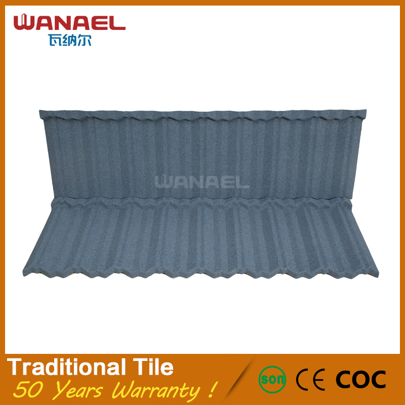 Wanael hot selling products building construction materials roof tile sheet metal tile trim price