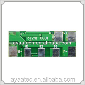 3S 4S Lithium battery PCM/PCB/BMS with balance funtion