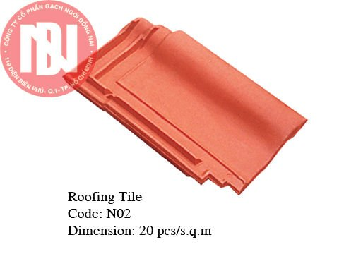 Clay roof tile 20