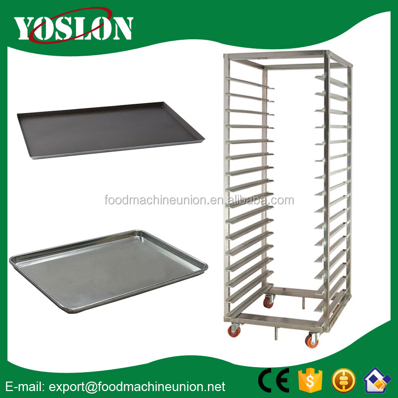 Reasonable Price Stainless Steel Bread Oven Baking Trolley for hot sale