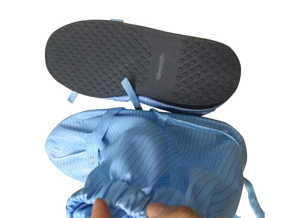 Cleanroom Using ESD Antistatic Autoclavable Sole Shoes With ESD Fabric
