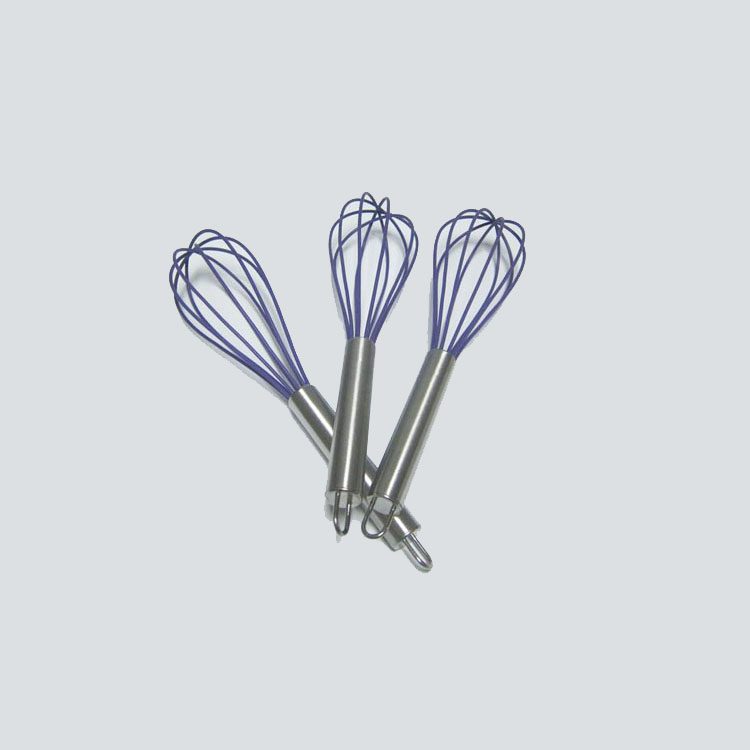 Balloon Whisk Stainless Steel portable Silicone Egg Whisk