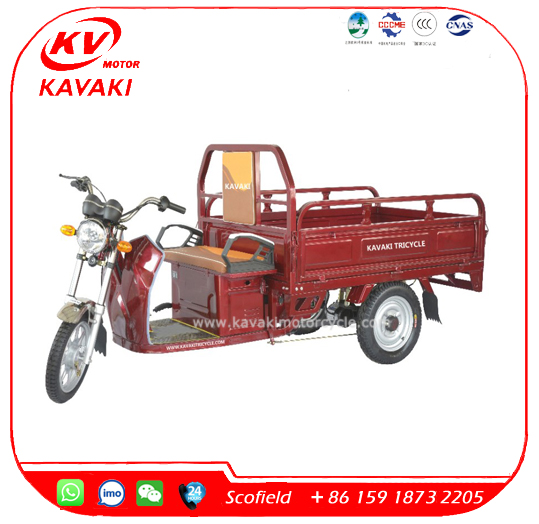 2017 New Model 900w Electric Tricycle Adults for Cargo