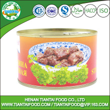 new premium halal canned meat canned roast beef
