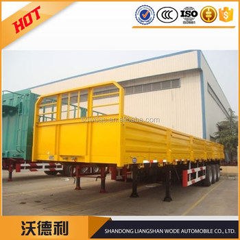 40 Ton side wall cargo semi trailer sales
