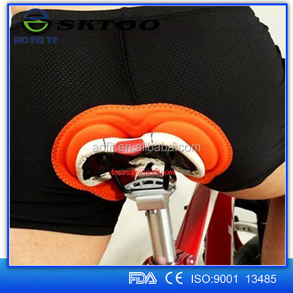 New Comfortable 3D Silicone Padded Bicycle Bike Cycling Underwear/Shorts/Pants