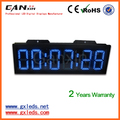 8inch high brightness digital led clock for outdoor use