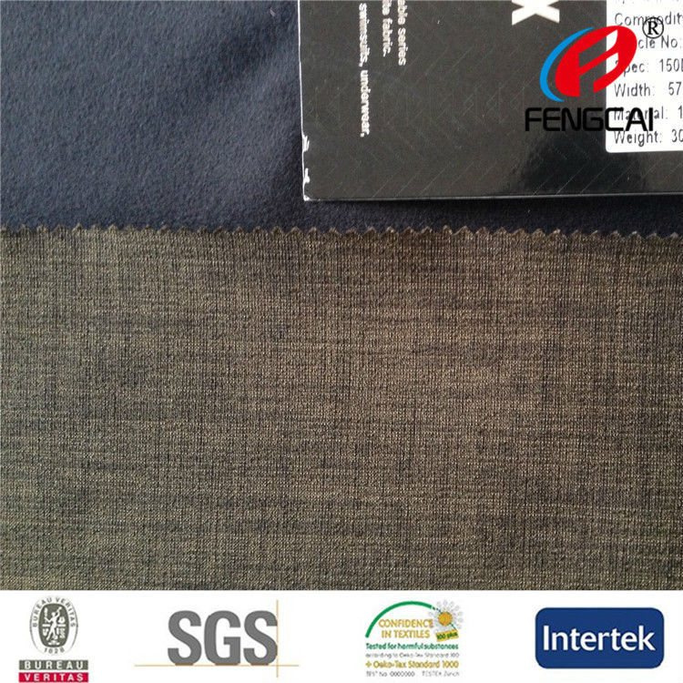 High quality outdoor sport wear fabric bonded polar fleece