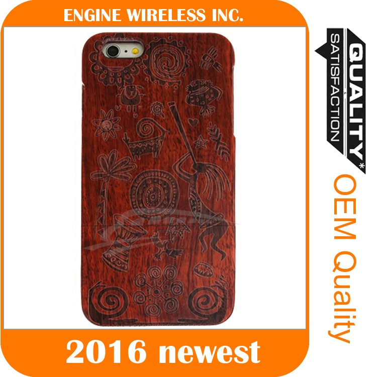 cell phone cover maker bamboo for iphone 6 case, case for iphone