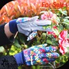 SRSAFETY best price colorful cotton gloves with dots in one side