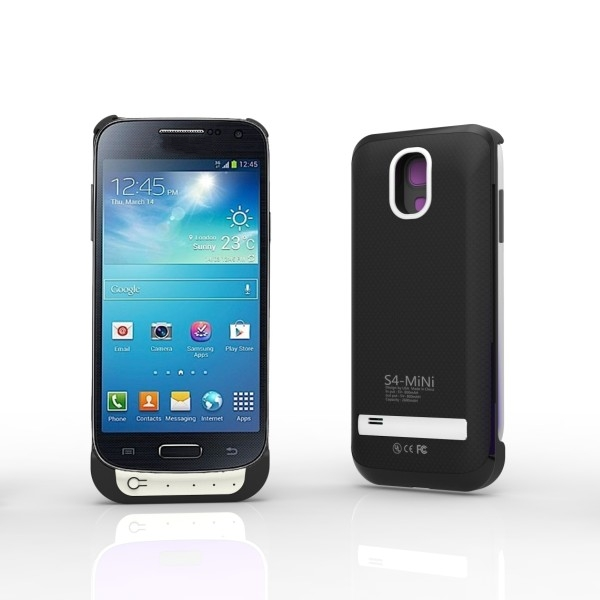 2600mAh For Samsung Galaxy S4 mini battery case power charger case