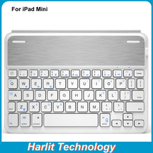 Folio Magnetic Wireless Bluetooth Keyboard For iPad mini Slim Tablet Keyboard Case For Apple iPad Mini 4