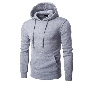 import grey hoody with customized logo from China