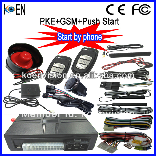 Auto Smart Start System With PKE Remote Start Push Button Start