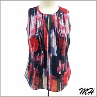 One Piece Special Print Latest Fashion Ladies Blouse