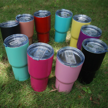 Wholesale Domil Blanks 30oz Power Coated Tumbers Water Cups Convenient Water Hloders Drimkware