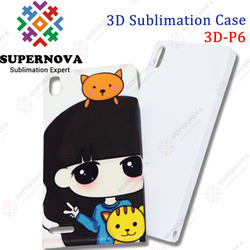 3D Sublimation Blanks Case for huawei P6 Made in China