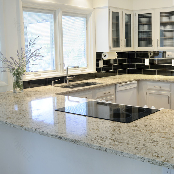 solid surface cut-to-size countertop high gloss laminate countertops