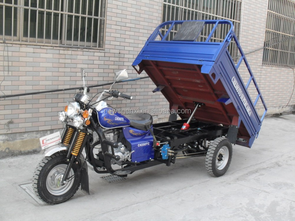 CBU CKD motorcycle trike 150CC 200CC 250CC farming tricycle