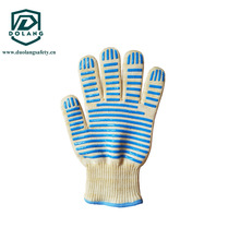 Thicker Silicone Gloves Insulated Hot Water Skiing a Microwave Oven-Proof Baking Silicone Gloves