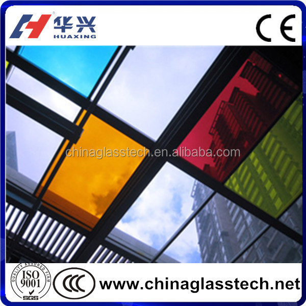 CE/CCC Certificate Exposed Frame Laminated Glass Building Facade Exterior Curtain Wall