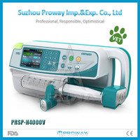 HOT SELLER PRSP-H4000V Portable Veterinary Syringe Pump with Cheap Price
