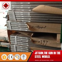 Polished stainless steel shim plate