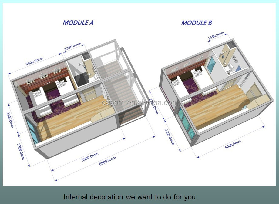 container mobile capsule hotel