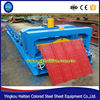 Roof Roll Forming Machine Roof Equipment Glazed Tile Production Line