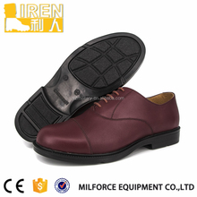 new design maroon color leather shoes for men factory price