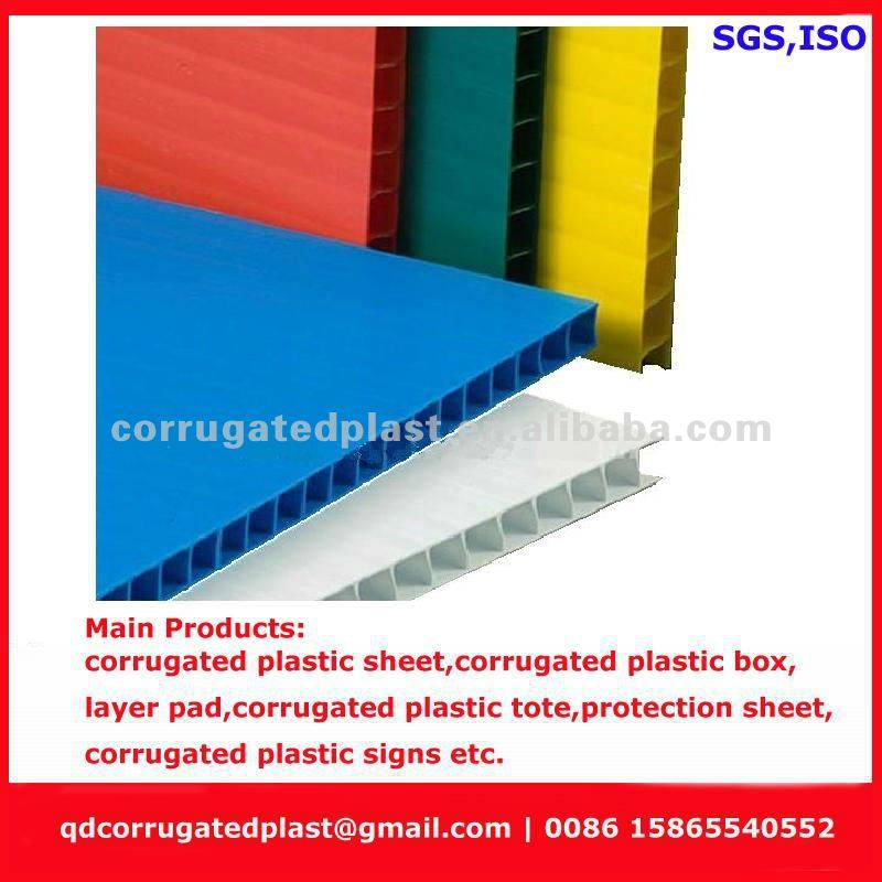 Packing Grade PP Corrugated Board