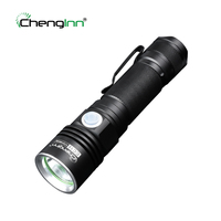 USB Rechargeable LED Flashlight Mini Portable 4 Mode 500LM Light Hand Torch Lamp Chenglnn