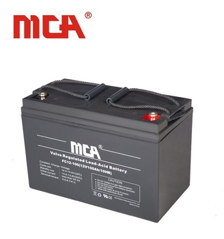 High quality 12 volt AGM/VRLA/solar battery for 100AH
