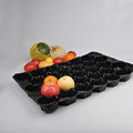Light weight PP material black fruit inner package tray
