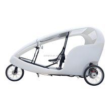 Advertising Use EU Standard 3 Passengers 500 Watt Electric Motor Taxi Bike, Germany Style Street Renting Business Velo Taxi