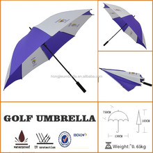 blue and white clip on best selling golf umbrella