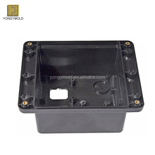 OEM custom injection mould manufacturing plastic products PC ABS medical part handle molding with brass inserts