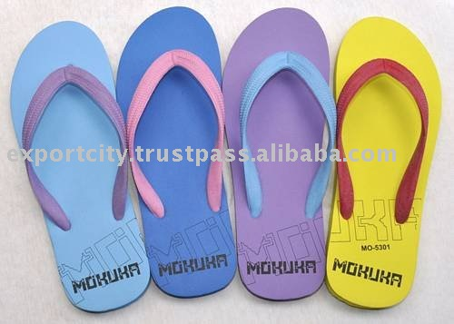 TT-Flip #1 multi swap color Rubber Flip Flop (Unisex)