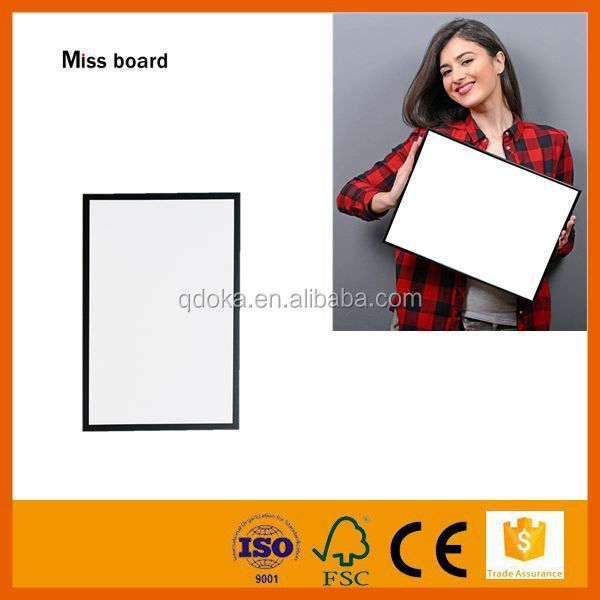 kids and childrens erasable magnetic writing and drawing white board